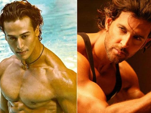 Tiger Shroff is flattered at being compared with Hrithik Roshan for the way he looks and for his dancing skills.