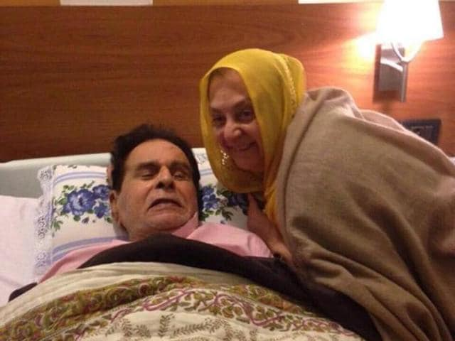 Dilip Kumar is on the road of recovery following his recent illness.