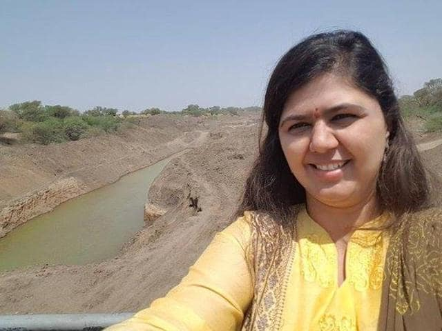 Pankaja Munde has been criticised for taking a selfie during her visit to the drought-hit areas of the state.
