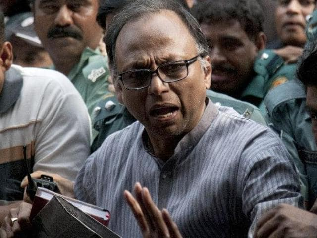"Mahmudur Rahman's lawyer called the case ""politically motivated""."
