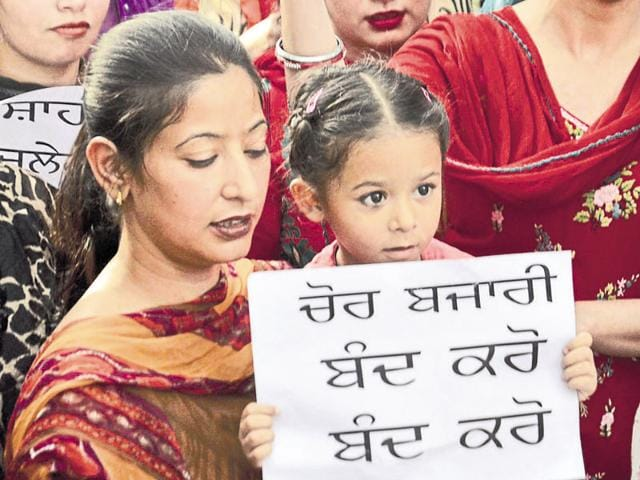 A clear message to schools from children and parents, in Amritsar on Sunday.