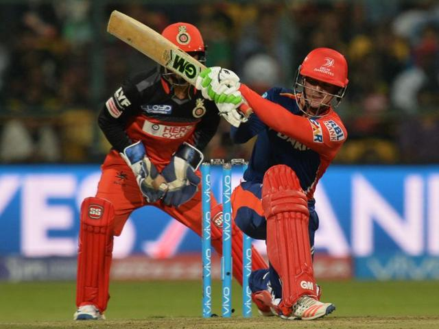 Delhi Daredevils batsman Quinton De Kock played a  matchwinning knock of 108 to give his side a successive win this season.