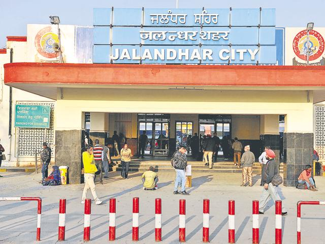 Railway division,Ferozepur,Jalandhar stations