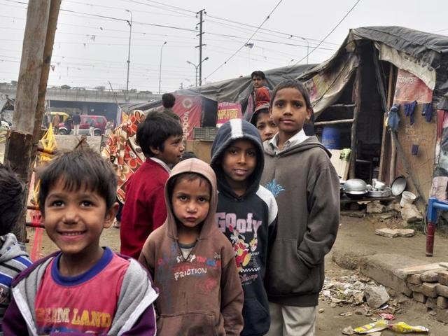 Home alone and vulnerable, the slum children in Ludhiana don't know the dangers that lurk around them.
