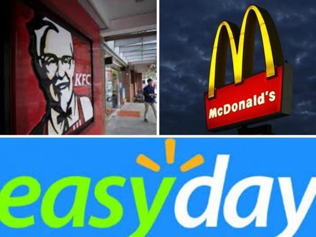 food samples,Easyday,McDonald's