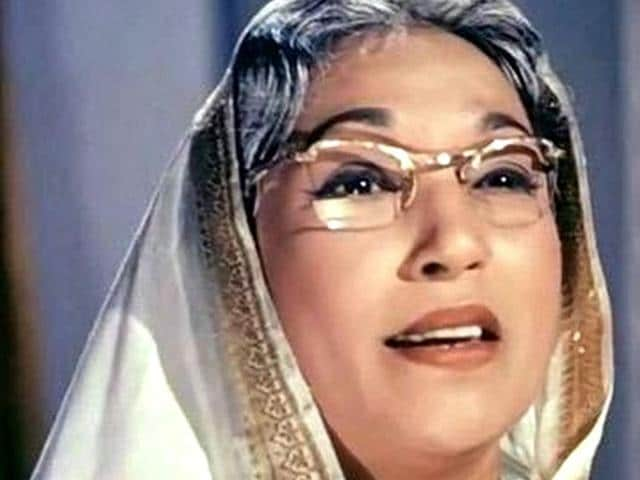 Lalita Pawar, who was born on April 18 in 1916. (YouTube)
