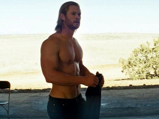 Chris Hemsworth had 16 meals a day for this!