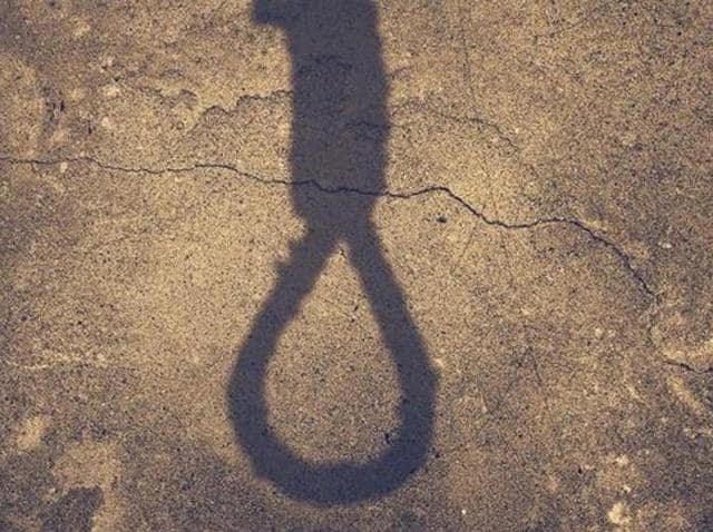 Farmer Charan Singh, 45, a resident of Kotdharmu village, committed suicide by hanging himself at his house here on Monday afternoon.