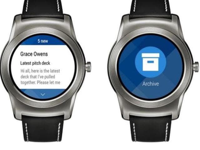 The latest update to Microsoft's Outlook Android app brings compatibility with Android Wear. Owners of Android-based wearables can now join their Apple Watch-wearing counterparts in receiving Outlook notifications directly on their watches