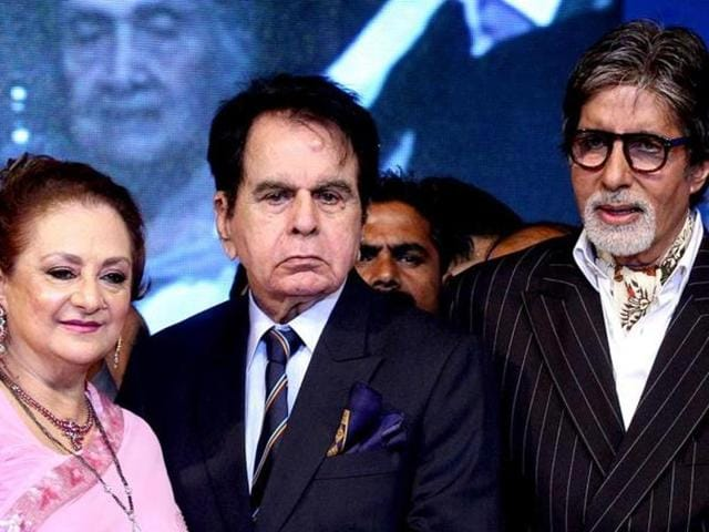Amitabh Bachchan has starred with Dilip Kumar in a number of hit Hindi films.