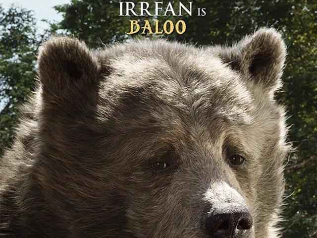 Irrfan Khan voiced Baloo while Priyanka Chopra voiced Kaa in The Jungle Book.