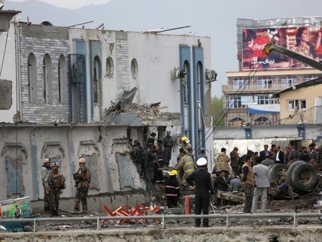 Blast in Kabul,Afghaistan,Taliban