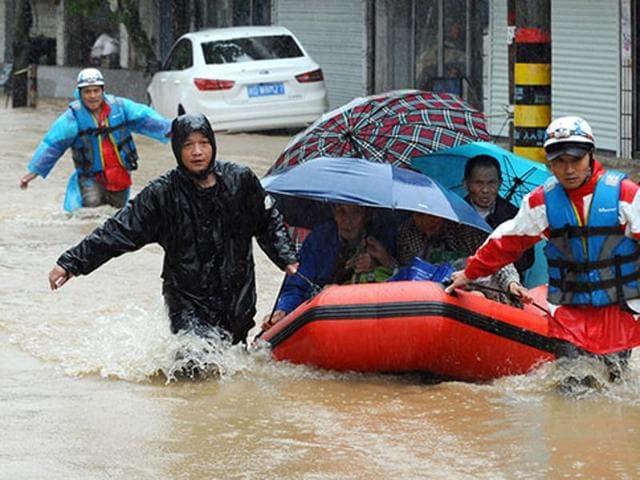 Houston floods. Sunita Singh