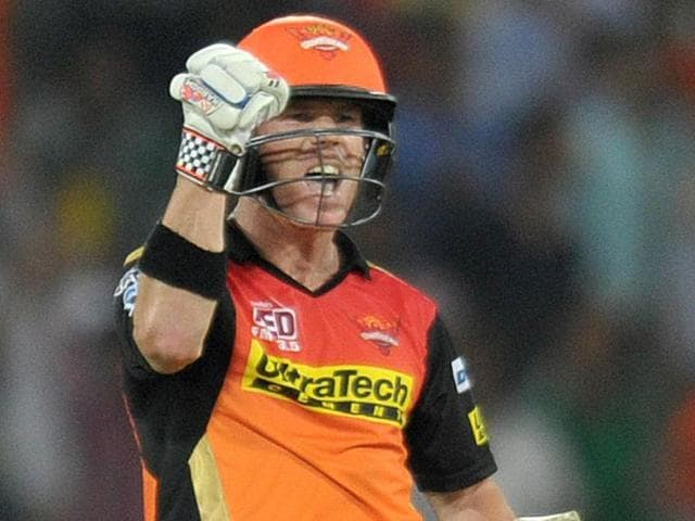 David Warner too registered his name alongside other openers in the IPLwho have carried their bat through while chasing.