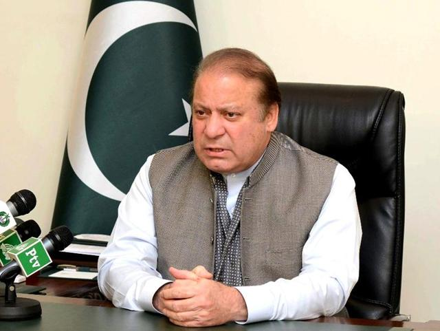 File photo of Prime Minister Nawaz Sharif speaking at the UN General Assembly in New York.
