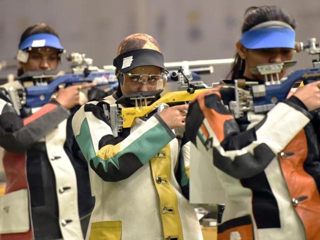 Himani Agarwal,SHooting,International Pole Rifle Shooting Championship