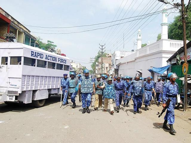 riots on the rise in MP