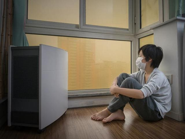 """Urban dwellers typically spend 90%of their time indoors and this has been linked to """"Sick Building Syndrome"""" where people exhibit a range of ill-health effects related to breathing indoor air."""