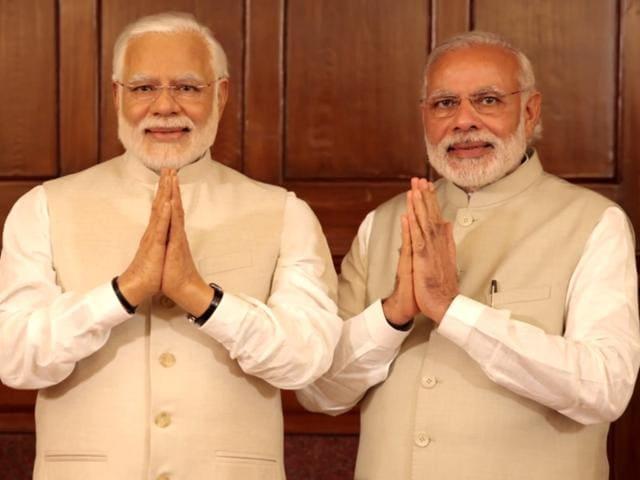 Modi meets Modi