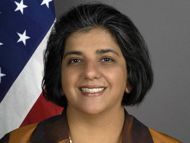 A file photo of Geeta Pasi. An Indian-American, Pasi has been named as the next US envoy to Chad by Barack Obama.