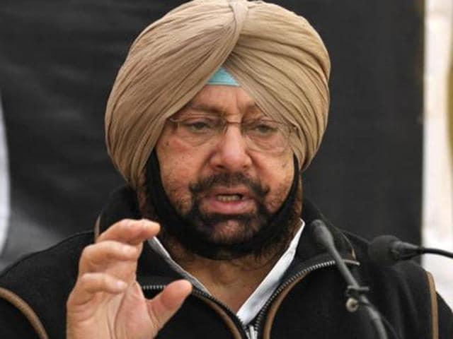 Punjab Congress president Capt Amarinder Singh