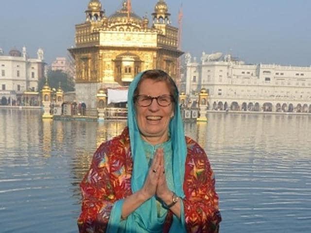 Ontario premier Kathleen Wynne visited Golden Temple earlier this year.