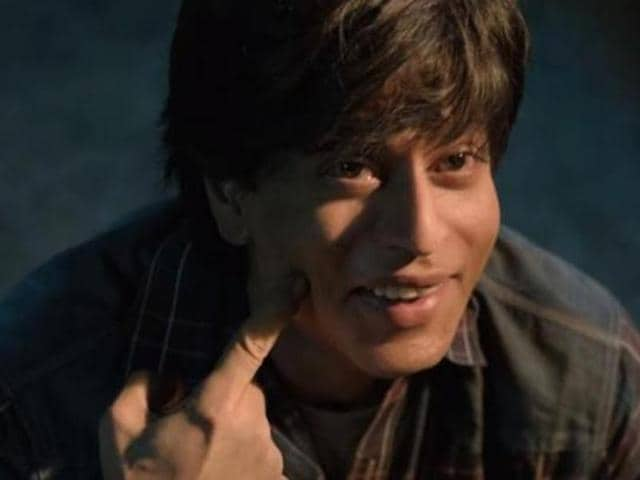 ShahRukh Khan played double role in Fan. (YouTube)
