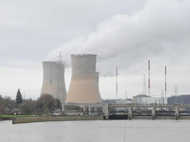 Tihange nuclear power plant in Huy. The German government is asking Belgium to take two nuclear reactors offline temporarily because of safety concerns.