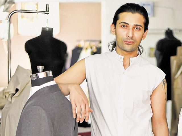 Dhruv Kapur, founder of fashion label DRVV, believes in creating outfits that people would love to live in.