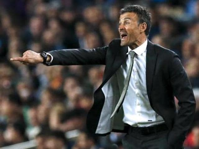 Despite their nine-point lead being wiped out, Barcelona coach Luis Enrique believes his side is used to the pressure of their La Liga title campaign.