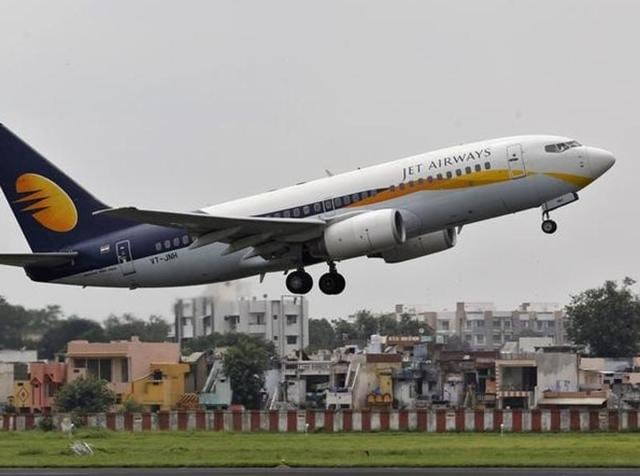 A Mumbai-bound Jet Airways flight was grounded at Ahmedabad's Sardar Patel International Airport on Wednesday  morning following a bomb threat.. REUTERS/Amit Dave/Files