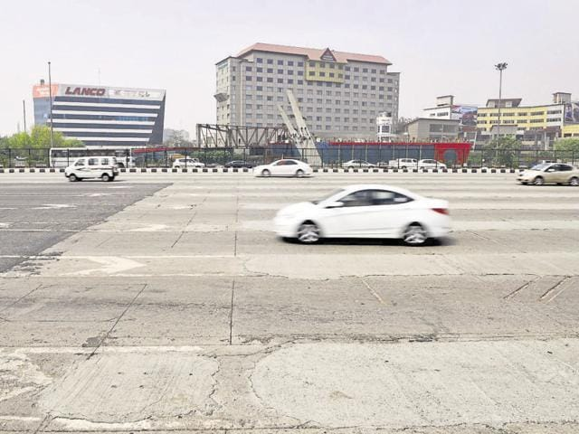 Roads remained deserted as people preferred to stay indoors on Wednesday.