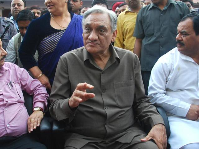 Congress rebel Vijay Bahuguna led a section of  leaders to rebel against the Harish Rawat government  last month, eventually pushing Uttarkhand into President's rule.