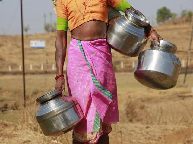 Parts of Karnataka have been hit with a severe drought and women have to either walk kilometres or climb down a well to get water.