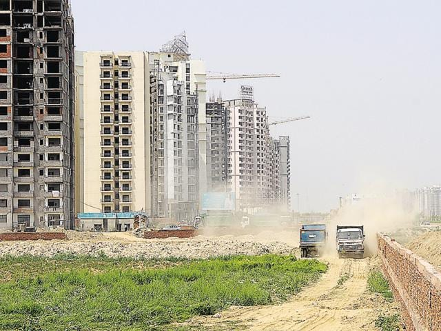 Real estate developers facing financial crisis are unable to complete their housing projects, leaving homebuyers in the lurch.