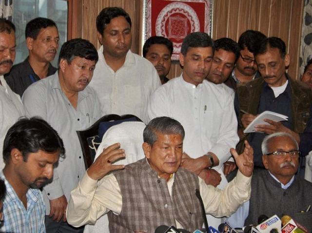Uttarakhand crisis,Presidents Rule in Uttarakhand,Harish Rawat