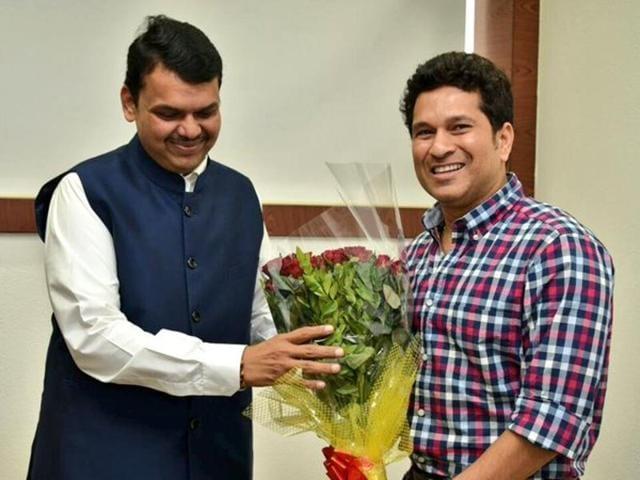 Chief minister Devendra Fadnavis  on Thursday  held a meeting with Tendulkar in this regard.