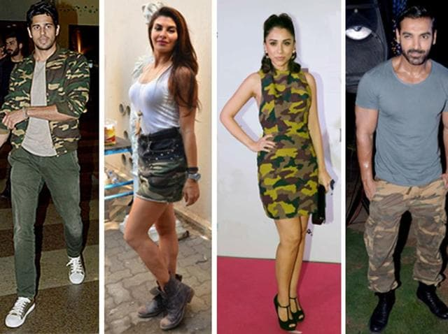 0ad0f0ad72 Bollywood style check: Military prints add to summer chic | fashion ...