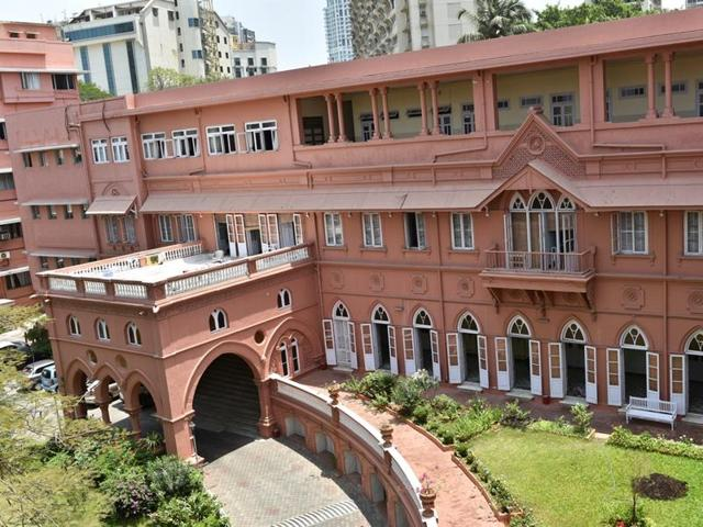 Sophia College for Women used be a residence for royals(Photo: Aalok Soni/HT)