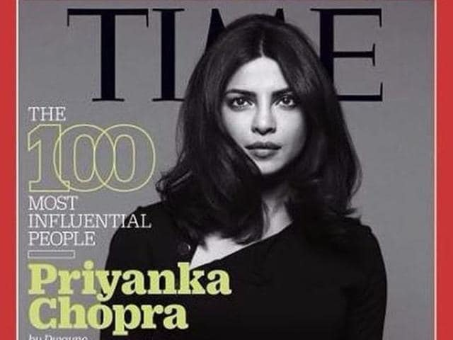 "I think that the movies that I do, I'm irreplaceable and the boys are replaceable,"" Priyanka told Time."