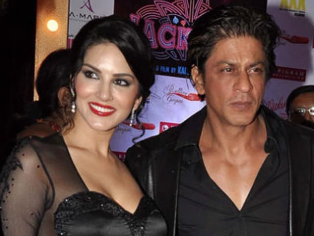 """After the first shot I went upto to him (SRK) and said 'thank you for our first shot together'. I kept saying thank you every two seconds. I think he felt I was crazy,"" Sunny said."