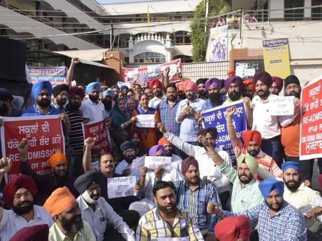 schools,parents' protests,Sri Guru Harkrishan Public School