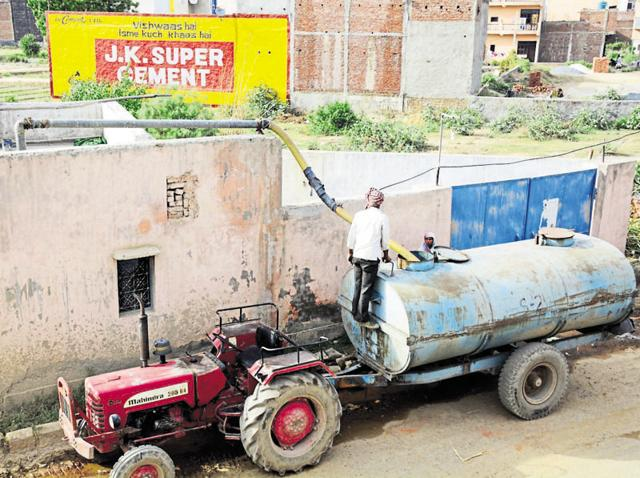 The groundwater situation has reached alarming levels due to over-extraction, according to officials.