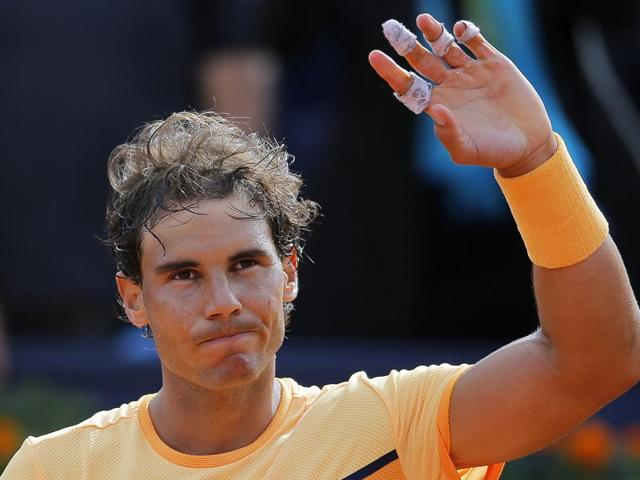 Rafael Nadal needed just over 90 minutes to beat fellow Spaniard Marcel Granollers.