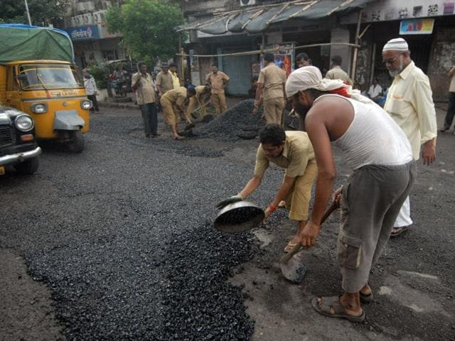 Residents have complained about the poor condition of roads in their areas.