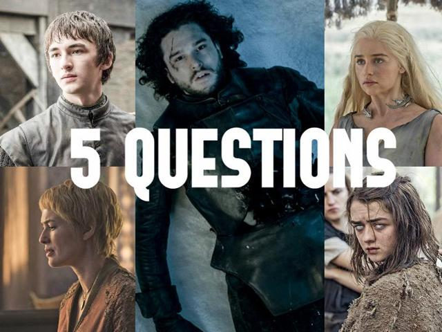 Game of Thrones,Questions,Confusions