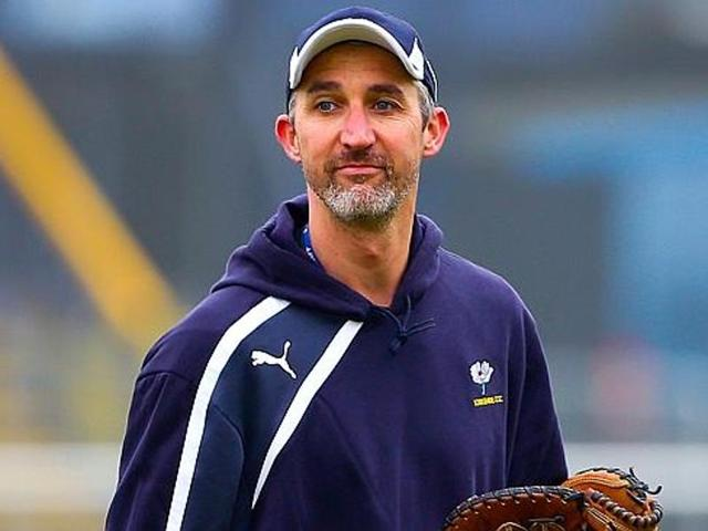 A file photo of former Australian fast bowler Jason Gillespie.