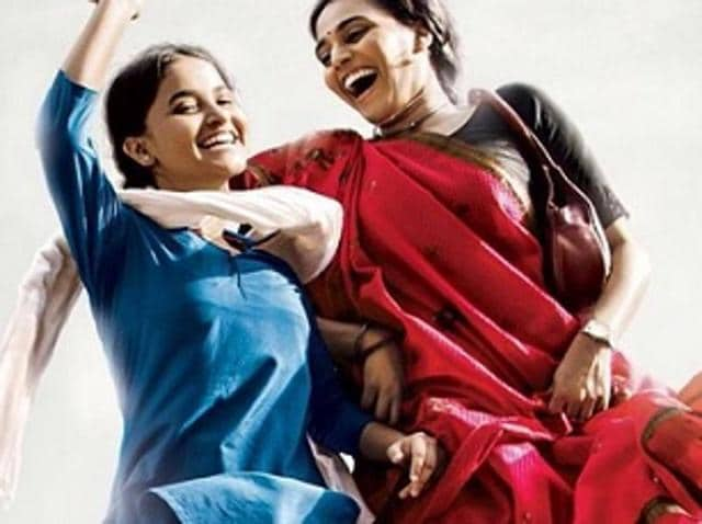 Bhaskar affirms this with a rare power and simplicity -- a yawning difference from the parts she played as a modern woman in the Tanu Weds Manu series.