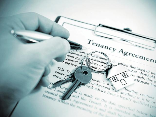 Properties let out to relatives are referred to as permissive possession and are governed by the law of licence.