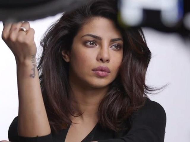"""Actor-producer Dwayne Johnson, who has shared screen space with Priyanka in Baywatch, described the actress as a """"star rising higher"""", lauded her """"drive, ambition, self-respect, and said she knows there's """"no substitute for hard work."""""""
